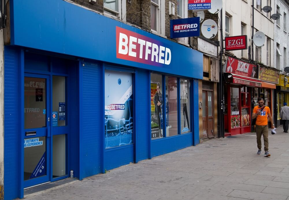 Withdraw at Betfred